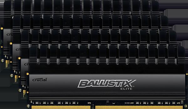 Crucial Ballistix Elite 2133MHz 32GB RAM Kit-ballistix240-pindimmballistixeliteddr3kit-4-png
