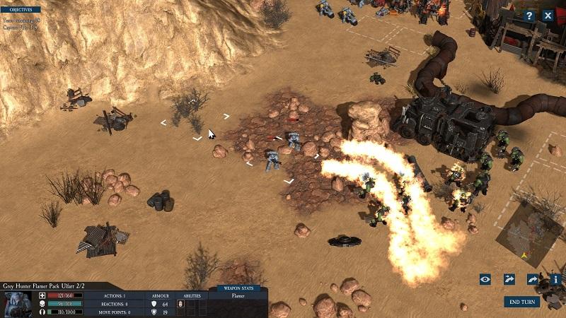 Warhammer 40k: Sanctus Reach review by Rick Moscatello-warsancflame-jpg