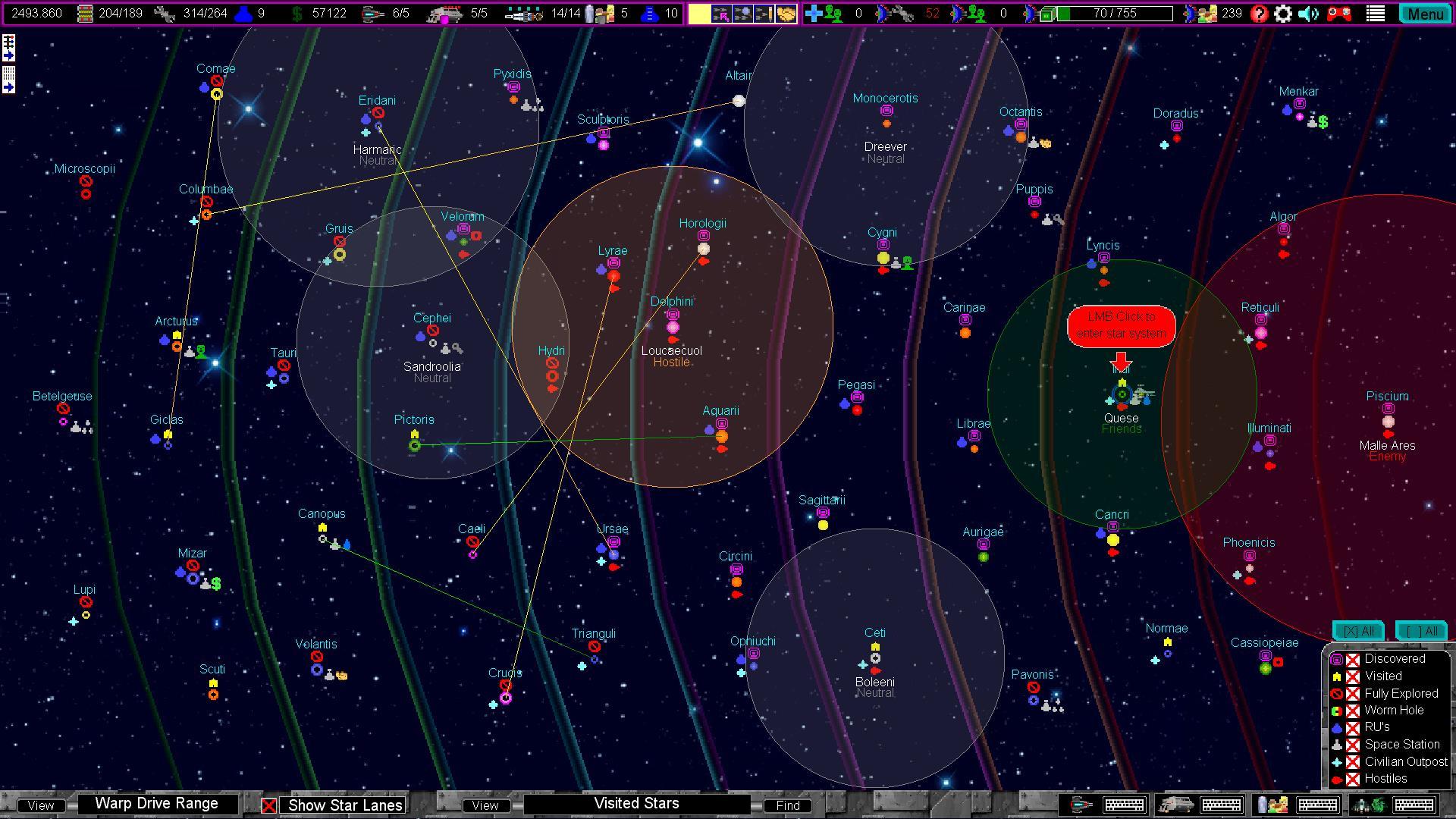 Starfleet Armada review by Rick Moscatello-starmap-jpg