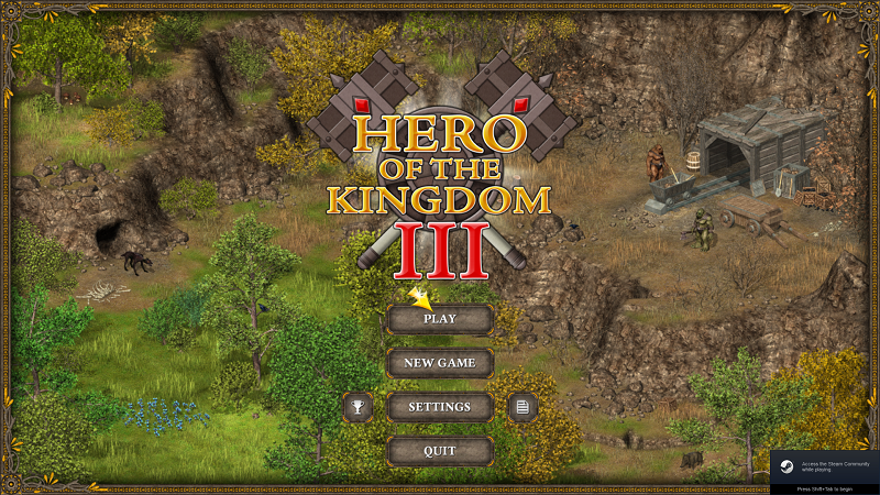 Hero of the Kingdom III review by Rick Moscatello-hksplash-png