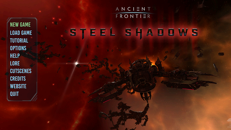 Ancient Frontier Steel Shadows review by Rick Moscatello-steelsplash-png