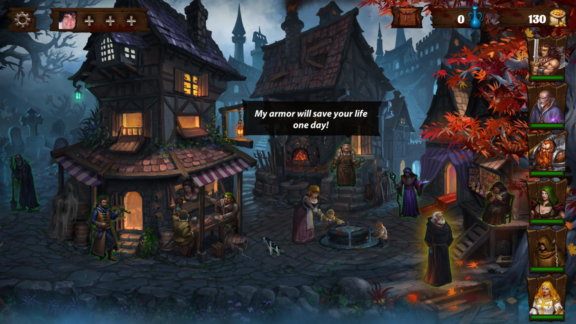 Dark Quest 2 review by Rick Moscatello-dqtown-jpg