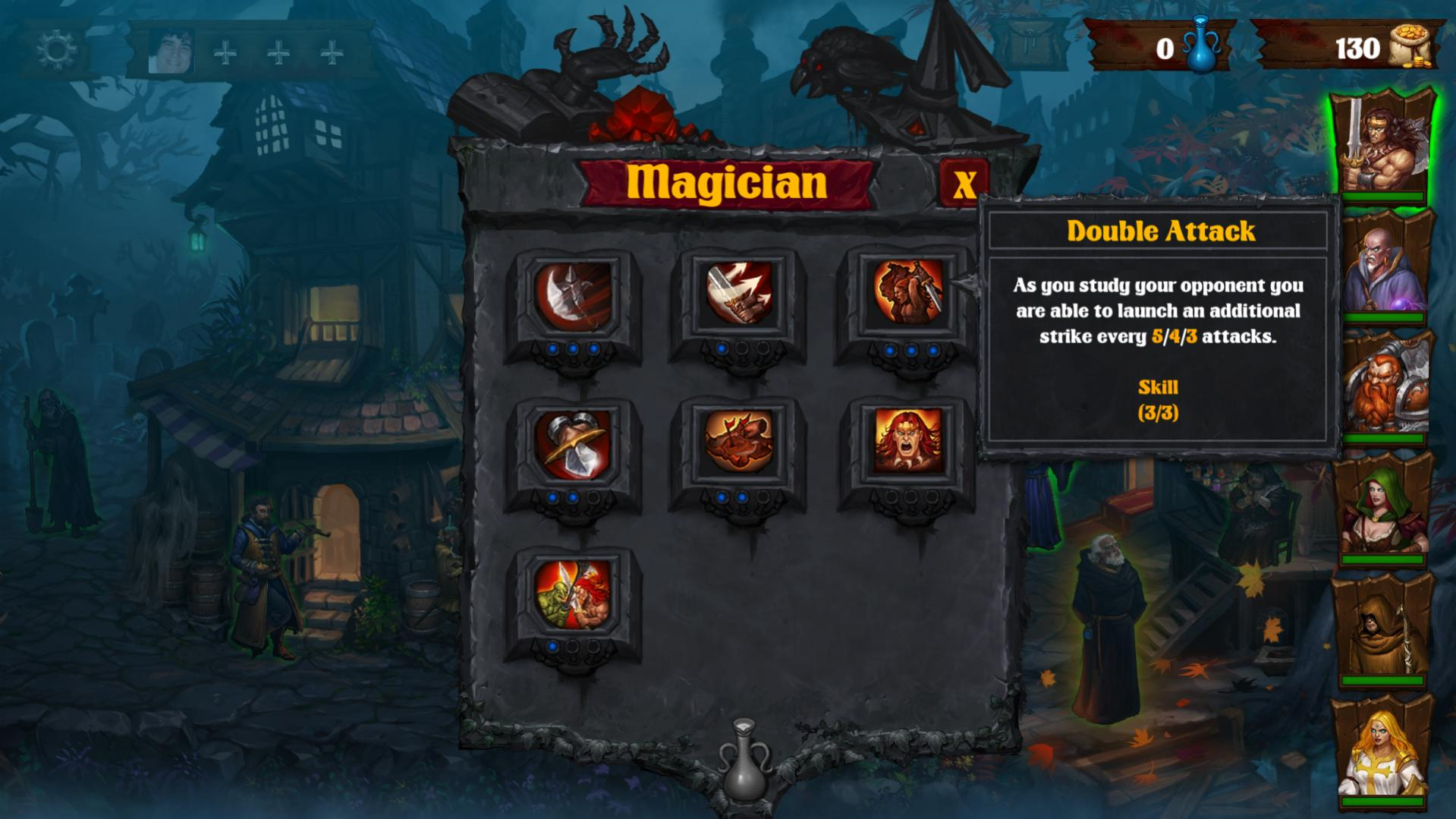 Dark Quest 2 review by Rick Moscatello-dqblue-jpg