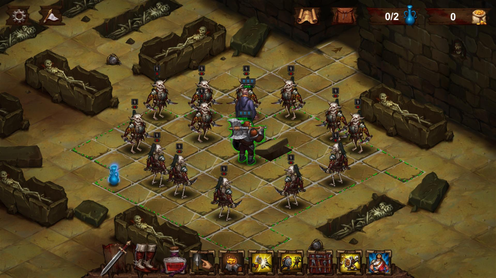 Dark Quest 2 review by Rick Moscatello-dqfight-jpg