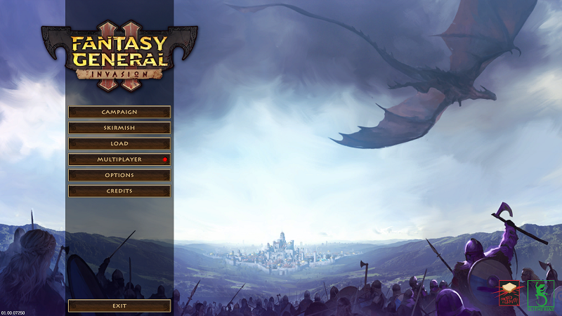 Fantasy General II review by Rick Moscatello-aafg2splash-png